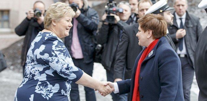 Norge, Polen og George Soros