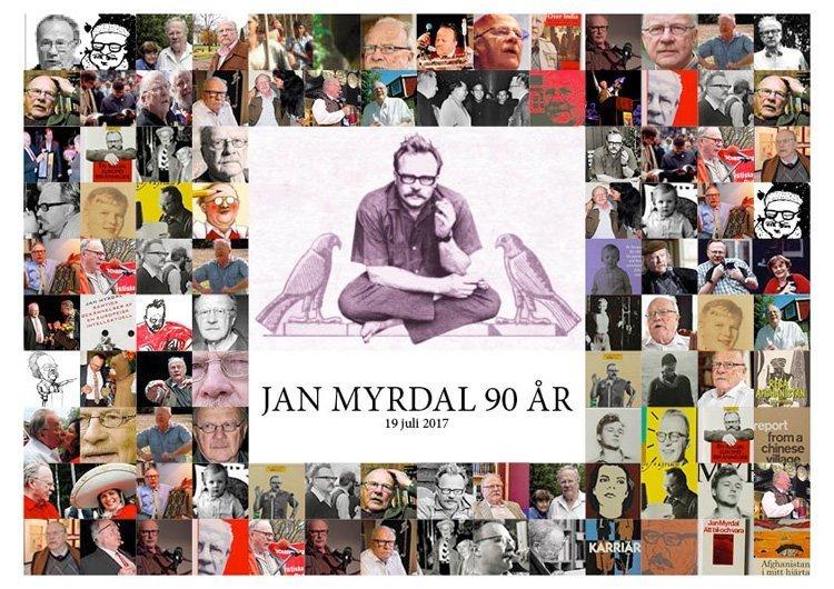 Hilsninger til jubilanten Jan Myrdal