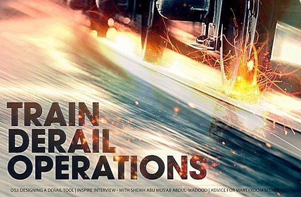 al-Qaida truer med terror mot jernbanen