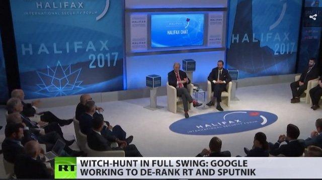 Google vil gjøre det vanskeligere å finne russiske medier