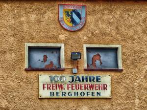 Feuerwehrgerätehaus Detail. Foto: Rüdiger Felling 2014