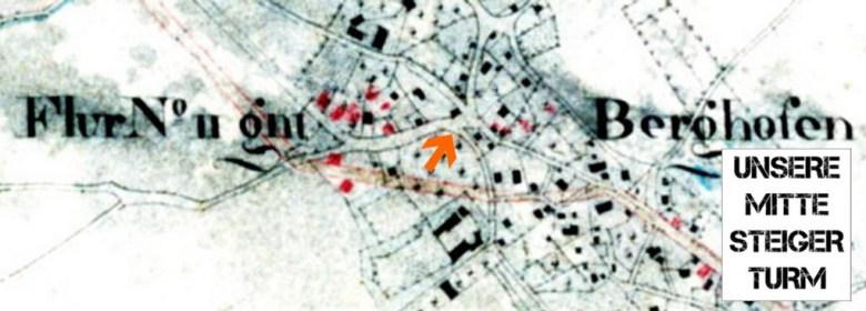 Kartenausschnitt mit Logo