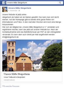 UMS Facebook Reichweite