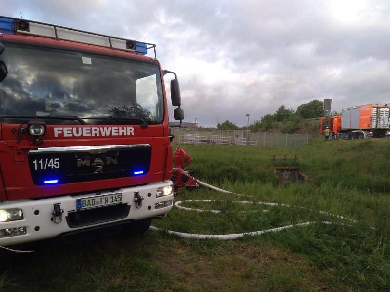 Überlandhilfe bei Großbrand in Bühl