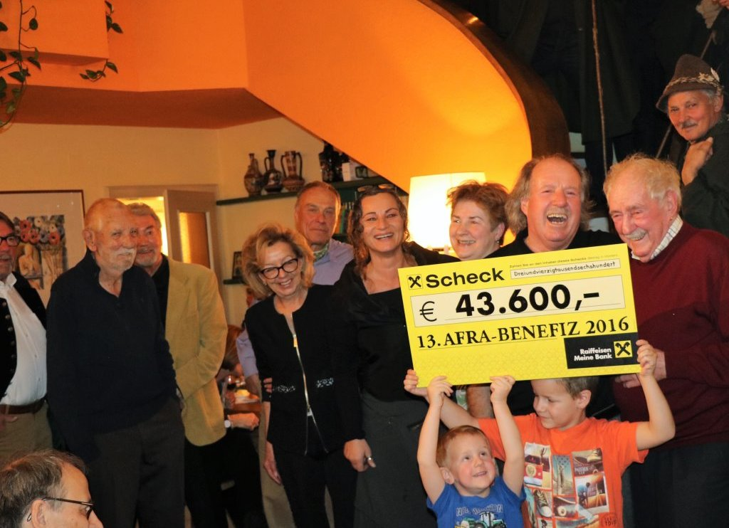 Spenden-Rekord bei Afra-Adventfeier 2016 - 43.600 Euro gehen an die Tiroler Frauenhäuser, Foto: Knut Kuckel