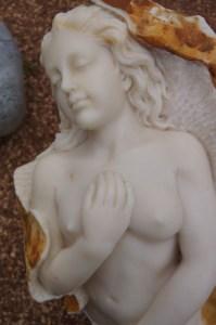 Marmorfigur - Meerjungfrau3