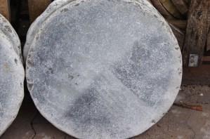 Trittstein Platten Spotted-Blue-Rund