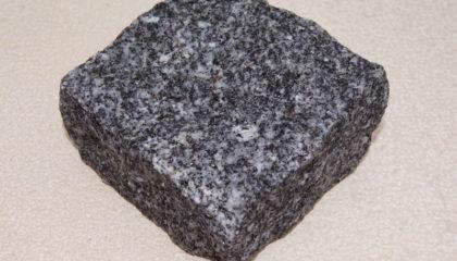 Pflastersteine – Granit grau blau 10x10x5cm