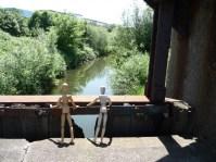 Brückenbesucher (C: NAK)
