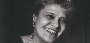 Eslanda Robeson, wife of Paul Robeson