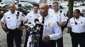 Baltimore City Police Commissioner Batts