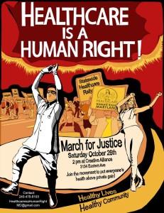 healthcareisahumanright