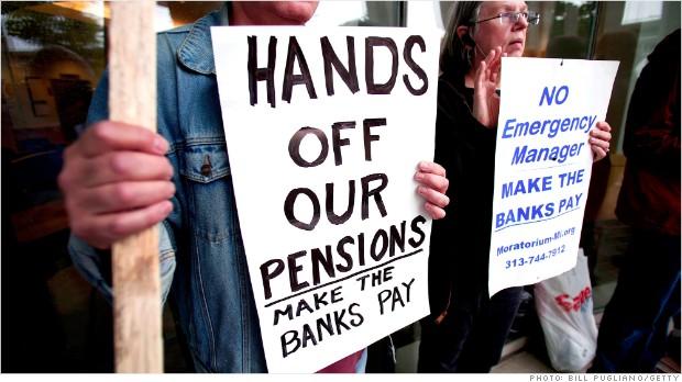 Detroit Bankruptcy Protest