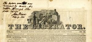 The Liberator, abolitionist newspaper