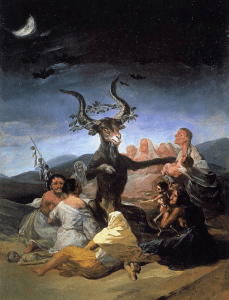 Francisco Goya painting