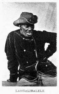 Hlubi Chief Langalibalele