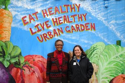 Juanita Ewell, Cherry Hill Urban Garden