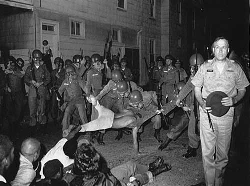 Arrest in Cambridge, Maryland - 1963