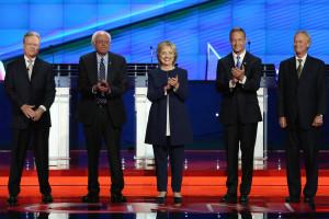 Democratic Debate (Credit: VanityFair News)