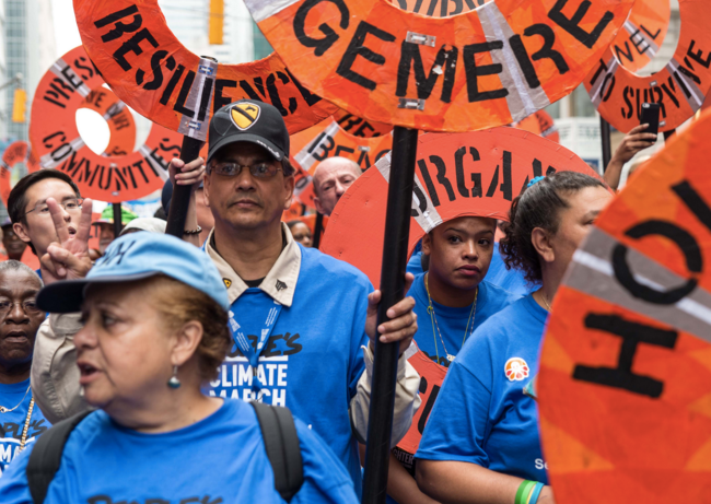 New Economy Week People's Climate Agenda