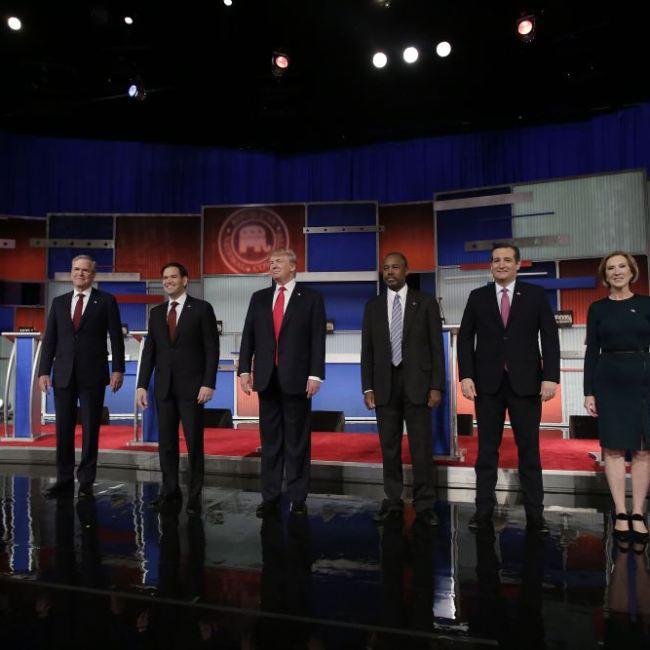 Republican Debate (Credit: USA Today)