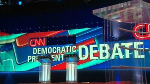 Hillary Clinton and Bernie Sanders will face off on Sunday at the next Democratic debate, moderated by CNN in Flint, Michigan.