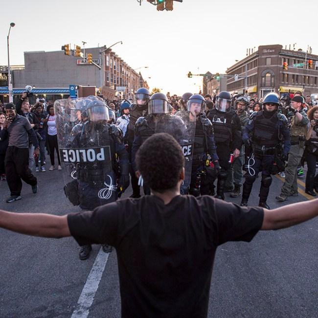 Freddie Gray Protestors (Credit: Washington Post)