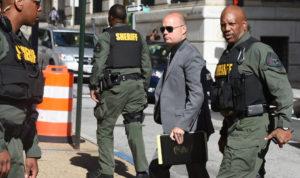 Police Lieutenant Brian Rice (Credit: Baltimore Sun)