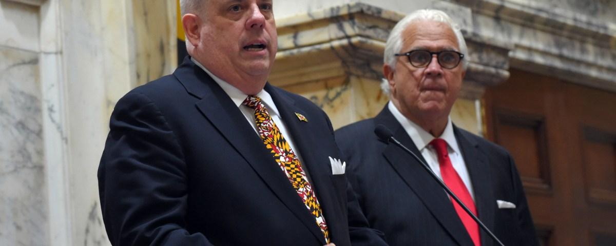 Hogan (Credit: Baltimore Sun)