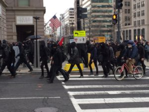 Black Bloc January 20 (Credit: Baynard Woods)