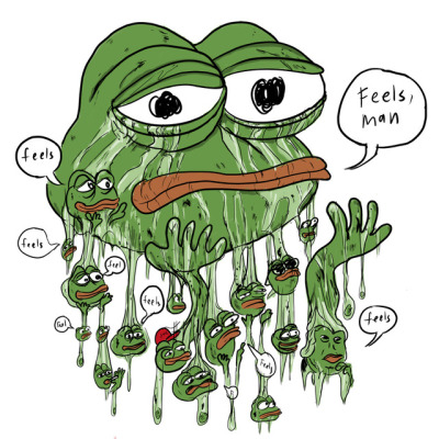 Pepe (Credit: Drawn by Dale Beran, on Tumblr Page)