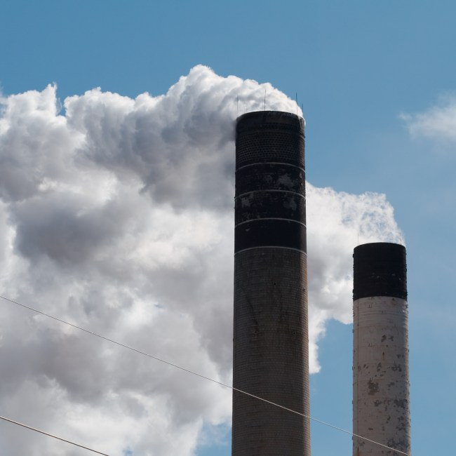 Smoke Stacks (Credit: Flickr Commons)