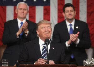 Trump State of Union (Credit: Chicago Tribune)