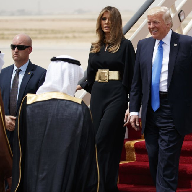 Trump Saudi (Credit: NPR)