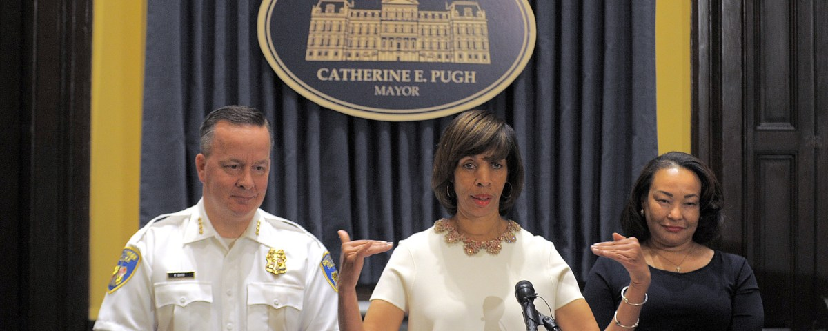 Catherine Pugh (Credit: Baltimore Sun)
