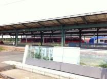 Westfrankenbahn im Kasseler Hbf anläßlich des Besuchs von Hr. Grube