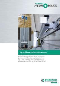 Flyer HydroMaxx Titel