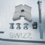 HydroSwizz Notfallschutzwand: Montage-Materialien