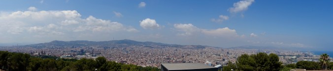 Taken at Castell de Montjuïc.