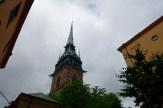 Church Tower in Gamla Stan (Old Town)