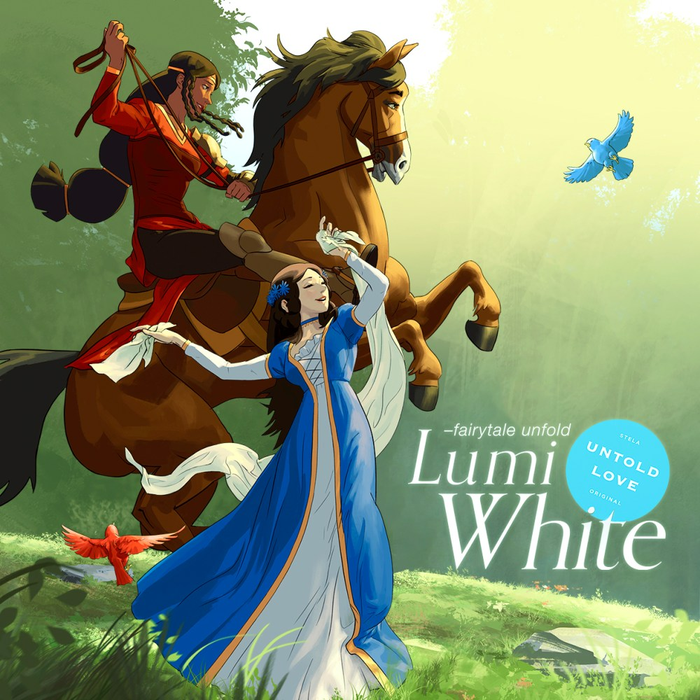 Lumi White and Princess Francis from Lumi White - Untold Love
