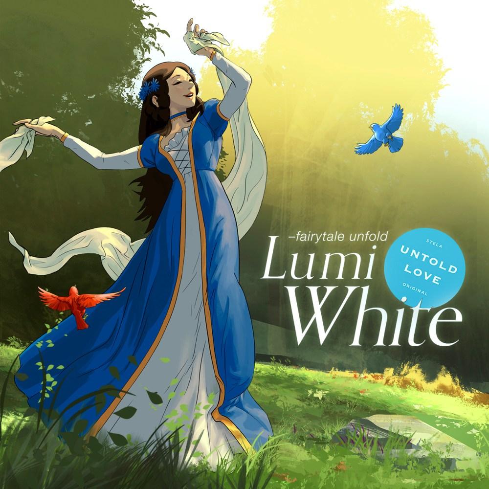 Lumi White - Untold Love, a retelling of Snow White.