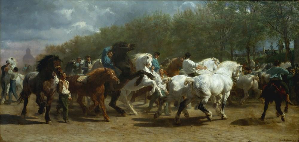 Rosa Bonheur - Horse Fair, 1835-55