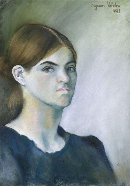 Suzanne Valadon - SelfPortrait, 1883