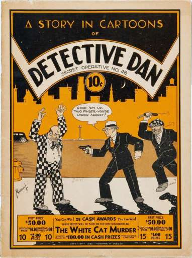 Detective Dan, Secret Operative No. 48