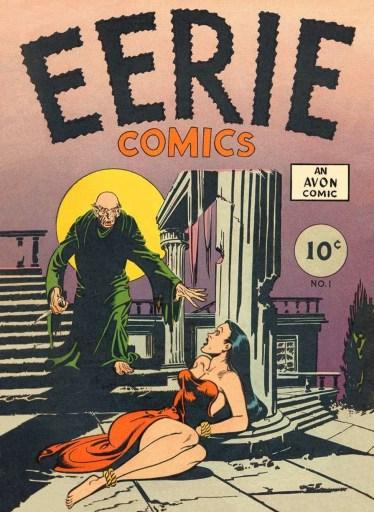 Eerie, Avon Comics