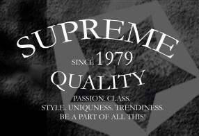SUPREME QUALITY PRINT