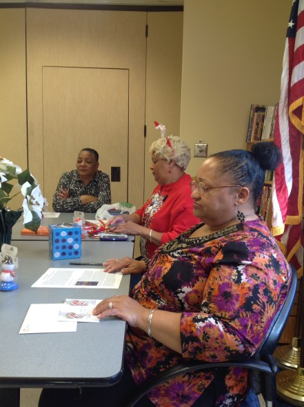 Talk with Beginnings Book Club - October 2014