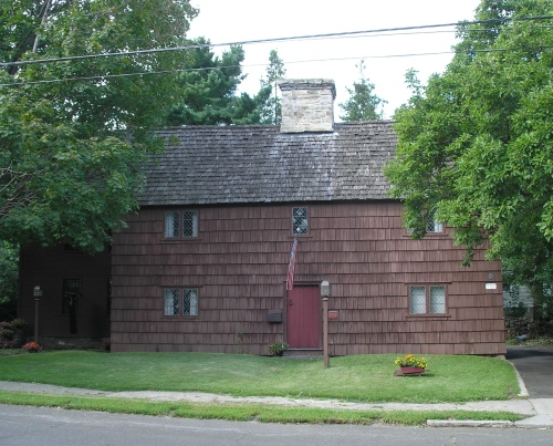 Wheeler home, Stratford, Connecticut ca 1680