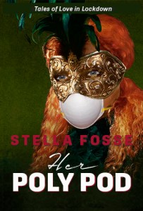 Book Cover Masked Woman Title Her Poly Pod